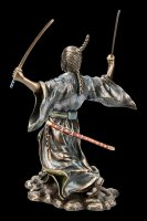 Samurai Figurine - Bujutsu with two Swords