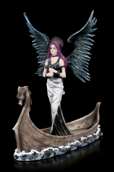 Dark Guardian Angel Figurine - Tira on Dragon Boat