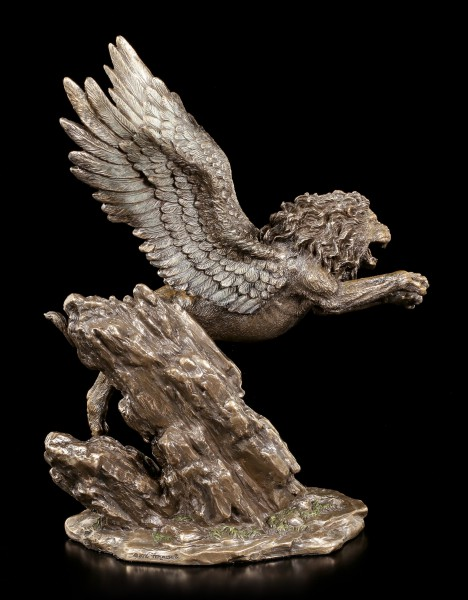 Winged Lion Figurine