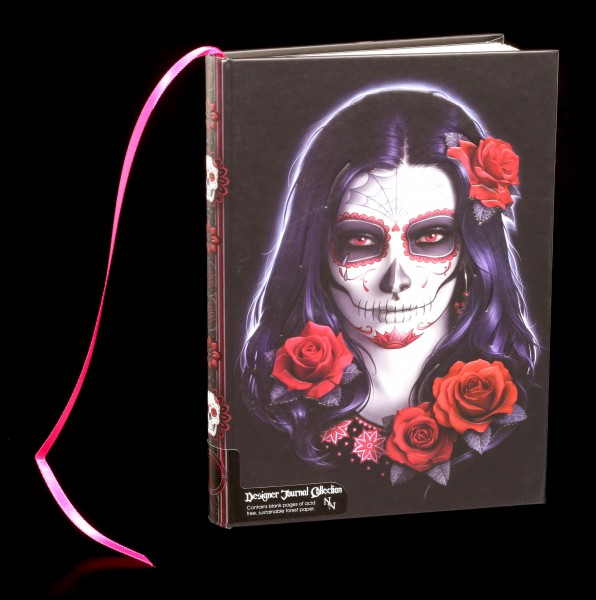 Notizbuch Day of the Dead - Sugar Skull