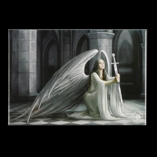 Magnet mit Gothic Engel - Blessing by Anne Stokes