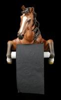 Toilettenpapierhalter - Pferd