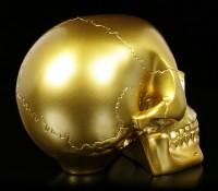 Totenkopf - goldfarben