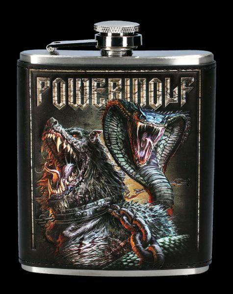 Flachmann Powerwolf - Kiss of the Cobra King