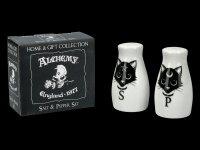 Salt- and Pepper Shaker - Black Cats