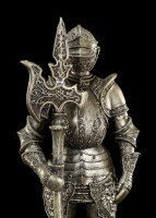 Knight Figurine with Halberd right
