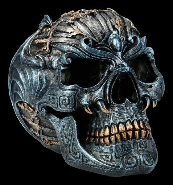 Totenkopf - Geflügelter Schwerter Schädel