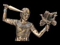 Ägyptische Figur - Prinz auf Boot