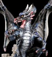 Drachen Figur - Destructor in Burgruine