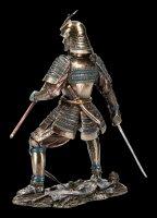 Samurai Figurine - Warrior with two Swords
