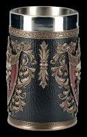 Skull Tankard - Et Alas Mortis - bronzed