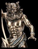 Zeus Figurine - God with Lightning