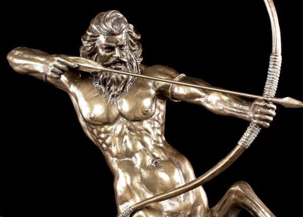 Zentaur Figur mit Pfeil und Bogen