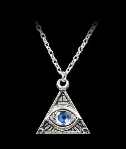 Alchemy Gothic Halskette - Eye of Providence