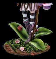 Elfen Figur - Bluma mit Orchidee