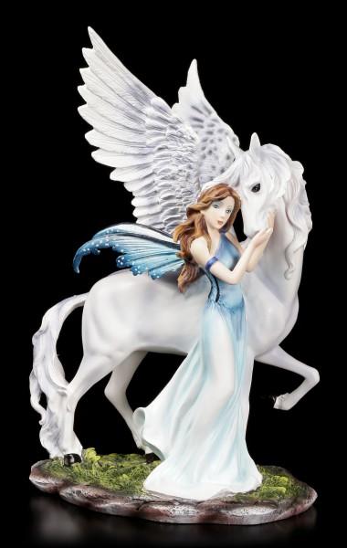 Elfen Figur - Belimone mit Pegasus