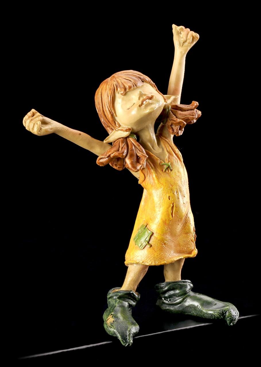 """Kantenhocker Pixie Figur - Mädchen """"Ich bin die Größte"""""""