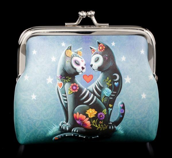 Geldbeutel mit Katzen - Starry Night