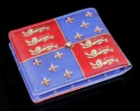 Men Wallet with Crest - Medieval