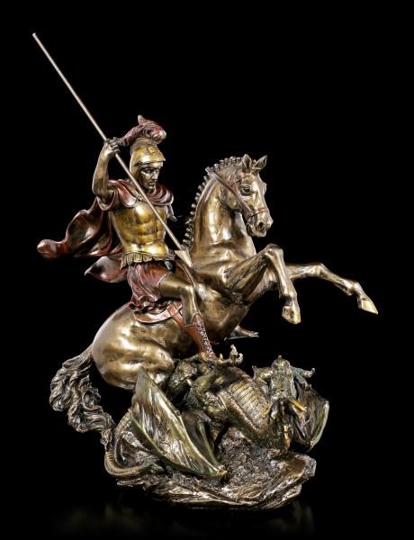 Ritter Figur - Hl. Georg der Drachentöter