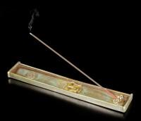 Buddha Räucherstäbchenhalter - Lotus Slumbers