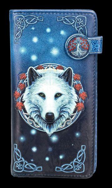 Geldbörse mit Wolf - Guardian of the Fall