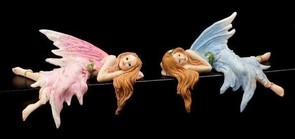 Kantenhocker - Elfen Lillie und Isabelle