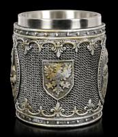 Medievil Tankard - Knight on Shield
