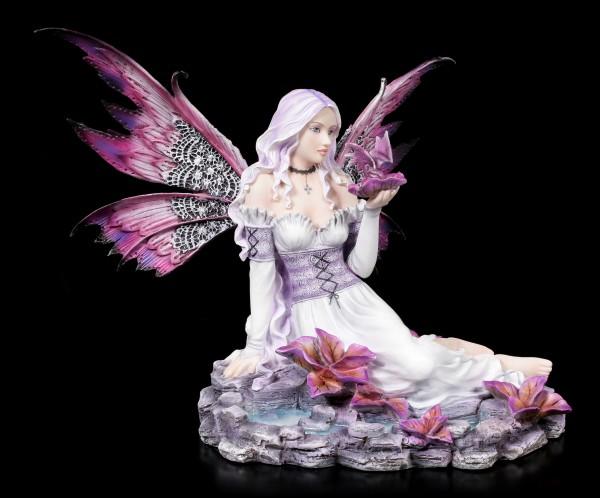 Fairy Figurine - Larissa with little Dragon