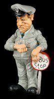 Bus Driver - Funny Job Figurine