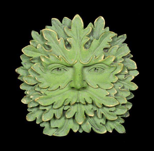 Garten Wandrelief - Grüne Majestät