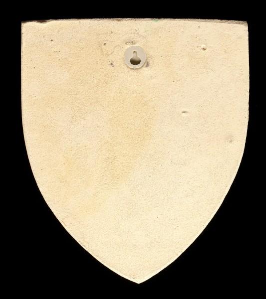 Ritter Wappen Wandrelief - Französischer Salamander