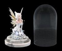 Fairy Figurine within Glass Bell Jar LED - Eira