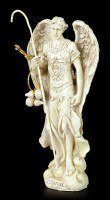 Small Archangel Figurine - Raphael - White