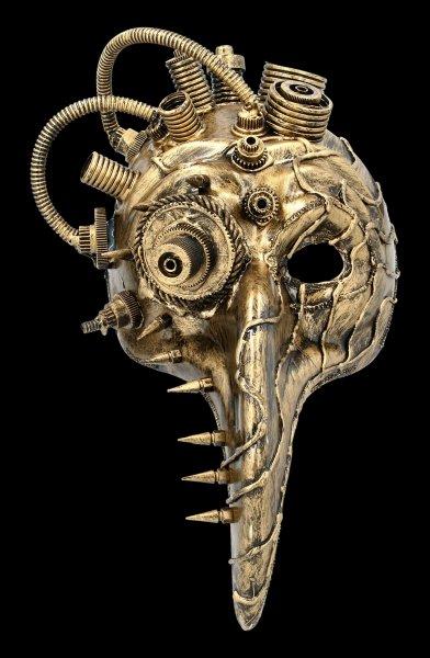 Steampunk Maske - Teknobird