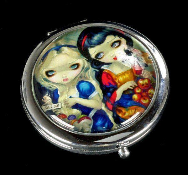 Taschenspiegel - Alice & Snow White