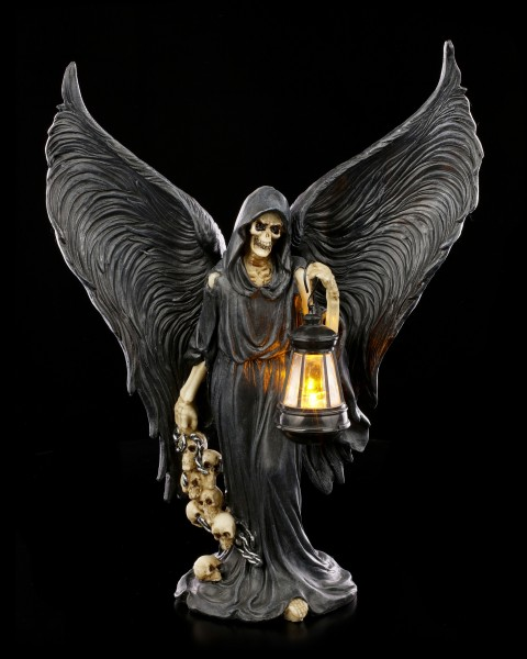 Reaper Figurine with LED Lantern