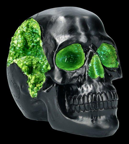 Totenkopf - Geode Skull - grün