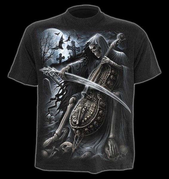 T-Shirt Skelett Reaper - Symphony of Death