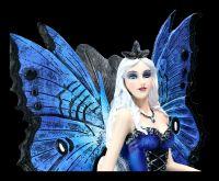 Elfen Figur - Rabenkönigin auf Thron