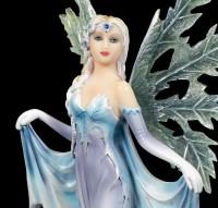 Winter Fairy Figurine - Hibernia with Ice Wings