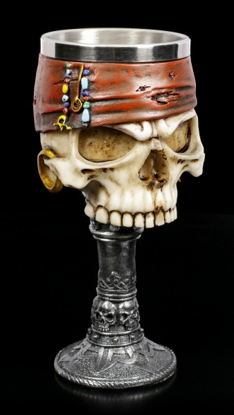 Skull Goblet - Pirate Dead Man's Drink