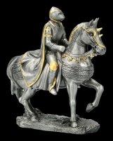 Ritter Figur auf Kriegspferd