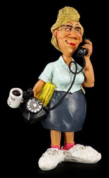 Sekretärin - Funny Job Figur
