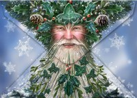 Fantasy Christmas Card - T'was the Night before Yule