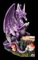 Drachen Figur mit Elfe beim Pokern - Dragon's Hand