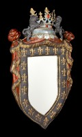 Medieval Wall Mirror - French Royal Crest