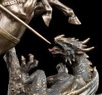 Heiliger Georg Figur - Der Drachentöter