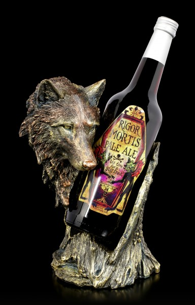 Bottle Holder Wolf - Call of the Wine