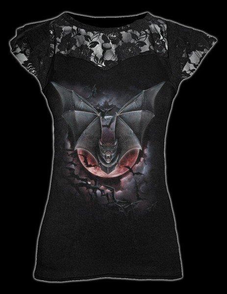 Netz Shirt - Vampire Bat